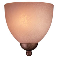 Minka-Lavery Caspian 1 Light Sconce in Golden Bronze 731-355