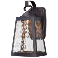 Talera LED 13 inch Oil Rubbed Bronze/Gold Outdoor Wall Mount Lantern