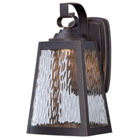 Minka-Lavery Talera 1 Light Outdoor Lantern in Oil Rubbed Bronze And Gold Highlights 73102-143C-L