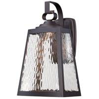 Talera LED 16 inch Oil Rubbed Bronze/Gold Outdoor Wall Mount Lantern