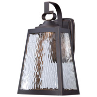 Minka-Lavery Talera 1 Light Outdoor Lantern in Oil Rubbed Bronze And Gold Highlights 73103-143C-L
