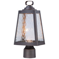 Minka-Lavery Talera 1 Light Outdoor Lantern in Oil Rubbed Bronze And Gold Highlights 73106-143C-L