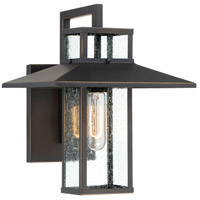 Minka-Lavery 73150-143C Danforth Park 1 Light 13 inch Oil Rubbed Bronze/Gold Outdoor Wall Mount, Great Outdoors