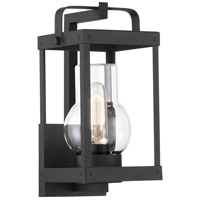 Minka-Lavery 73161-66 Sullivans Landing 1 Light 12 inch Sand Coal Outdoor Wall Lantern, Great Outdoors