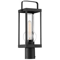 Minka-Lavery 73166-66 Sullivans Landing 1 Light 19 inch Sand Coal Outdoor Post Lantern, Great Outdoors