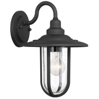 Minka-Lavery 73191-66 Signal Park 1 Light 13 inch Sand Coal Outdoor Wall Mount, Great Outdoors