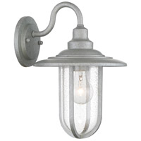 Minka-Lavery 73191-715 Signal Park 1 Light 13 inch Galvanized Outdoor Wall Mount Great Outdoors