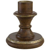 The Great Outdoors by Minka Signature Pier Mount in Mossoro Walnut w/Silver Highlights 7910-161