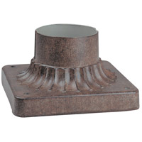 Minka-Lavery 7930-61 Signature 6 inch Vintage Rust Outdoor Pier Mount The Great Outdoors
