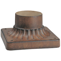 Signature 6 inch Mossoro Walnut Pier Mount