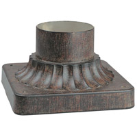 The Great Outdoors by Minka Signature Pier Mount in Iron Oxide 7930-357