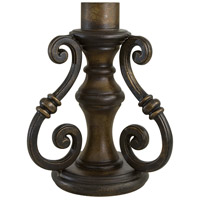 The Great Outdoors by Minka Signature Scroll Pier Mount in Prussian Gold 7940-407