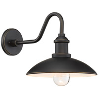 Minka-Lavery 7984-14-143C RLM Oil Rubbed Bronze/Gold Outdoor Shade, Great Outdoors