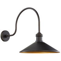 Minka-Lavery 7986-18-30 RLM Matte Gold Outdoor Shade Great Outdoors