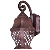 The Great Outdoors by Minka Arbor Hill 1 Light Outdoor Wall in Antique Bronze 8011-91-PL