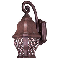 The Great Outdoors by Minka Arbor Hill 1 Light Outdoor Wall in Antique Bronze 8012-91-PL