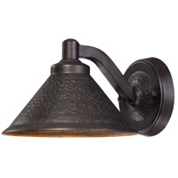 Kirkham LED 6 inch Aspen Bronze Outdoor Wall Mount Lantern