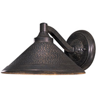 Kirkham 1 Light 7 inch Aspen Bronze Outdoor Wall Mount Lantern