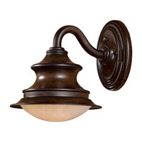 The Great Outdoors by Minka Vanira Place 1 Light Wall Lamp in Windsor Rust 8121-A188-PL