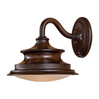 The Great Outdoors by Minka Vanira Place 1 Light Wall Lamp in Windsor Rust 8122-A188-PL