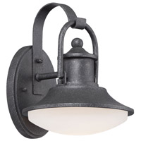 Minka Lavery Crest Ridge LED Outdoor Wall Lantern in Forged Silver 8131-173-L