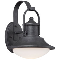 Minka Lavery Crest Ridge LED Outdoor Wall Lantern in Forged Silver 8132-173-L