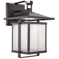 Minka-Lavery 8162-615B-L Hillsdale LED 14 inch Dorian Bronze Outdoor Wall Mount, Great Outdoors