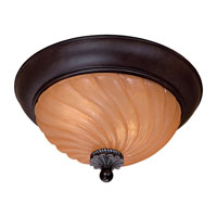 The Great Outdoors by Minka Telford 2 Light Flushmount in Heritage w/Silver Highlights 8199-164