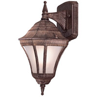 The Great Outdoors by Minka Segovia 1 Light Outdoor Wall in Vintage Rust 8201-61-PL