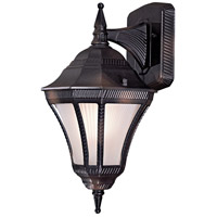 Segovia 1 Light 14 inch Heritage Outdoor Wall Mount