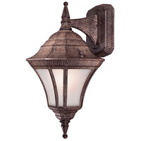 Segovia 1 Light 17 inch Vintage Rust Outdoor Wall Mount