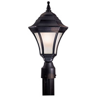 The Great Outdoors by Minka Segovia 1 Light Post Light in Heritage 8206-94-PL