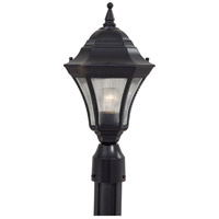Segovia 1 Light 17 inch Heritage Outdoor Post Mount Lantern