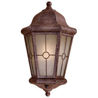 The Great Outdoors by Minka Montellero 1 Light Outdoor Pocket Lantern in Vintage Rust 8210-A61-PL