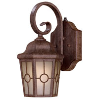 The Great Outdoors by Minka Montellero 1 Light Outdoor Wall in Vintage Rust 8211-61-PL