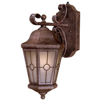 Minka-Lavery 8212-A61-PL Montellero 1 Light 18 inch Vintage Rust Outdoor Wall Lamp photo thumbnail