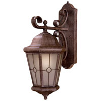 The Great Outdoors by Minka Montellero 1 Light Wall Lamp in Vintage Rust 8213-A61-PL