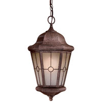 Montellero 1 Light 10 inch Vintage Rust Outdoor Pendant
