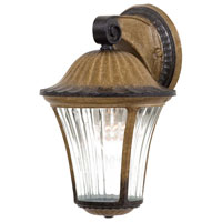 The Great Outdoors by Minka Amarante 1 Light Outdoor Wall in Amarante Gold 8231-163