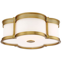 Minka-Lavery 824-249-L Signature LED 16 inch Liberty Gold Flush Mount Ceiling Light photo thumbnail