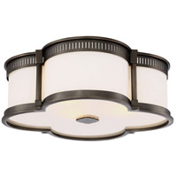 Minka-Lavery 824-281 Signature 3 Light 16 inch Harvard Court Bronze Flush Mount Ceiling Light