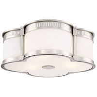 Minka-Lavery 824-613-L ML LED 16 inch Polished Nickel Flush Mount Ceiling Light