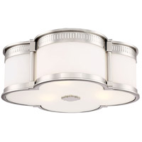 Minka-Lavery 824-613-L Signature LED 16 inch Polished Nickel Flush Mount Ceiling Light