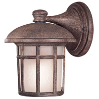 Minka-Lavery 8251-61-PL Cranston 1 Light 9 inch Vintage Rust Outdoor Wall in GU24 photo thumbnail