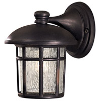 Cranston 1 Light 9 inch Heritage Outdoor Wall Mount Lantern