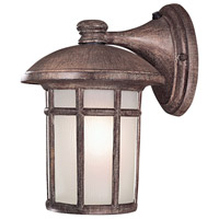 Cranston 1 Light 16 inch Vintage Rust Outdoor Wall