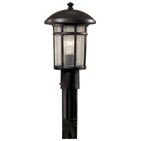 Cranston 1 Light 15 inch Heritage Outdoor Post Mount Lantern