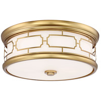 Minka-Lavery 826-249-L ML LED 16 inch Liberty Gold Flush Mount Ceiling Light