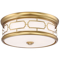 Minka-Lavery 826-249-L ML LED 16 inch Liberty Gold Flush Mount Ceiling Light
