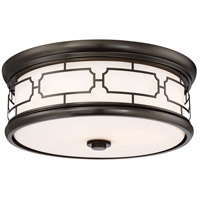 Minka-Lavery 826-281-L ML LED 16 inch Harvard Court Bronze (Plated) Flush Mount Ceiling Light